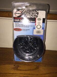 NIB DANCO UNIVERSAL HAIR CATCHER COMPLETE SET UP REMOVAL Shower Bath Tub