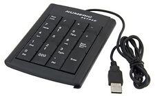 Pavé clavier numérique filaire USB pour d'ordinateur PC portable