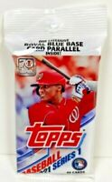 2021 Topps Baseball Series 1 - Sealed 40 Card Fat Pack - Exclusive Blue Parallel