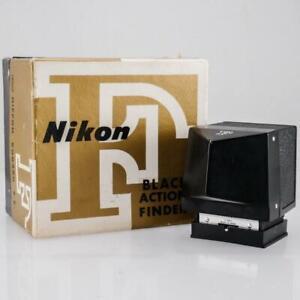 Rare Nikon Action Finder F Black for Nikon F Camera in Box