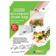 Quickasteam Support micro-ondes Vapeur Cook Sacs X 120
