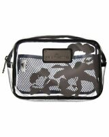 Adidas by Stella McCartney Transparent Wash Kit Case Toiletry Cosmetic Case $65