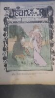 Revista Jean Que Rit N º 412 1909 Journal Demuestra que Aparecen El Viernes ABE