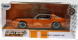 1979 Chevrolet Camaro Z28 ~ 1:24 Metal Die Cast Car ~ BIGTIME MUSCLE