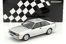 MINICHAMPS - AUDI QUATTRO SILVER COLOUR 1980 LTD EDITION OF 5041:18 SCALE.