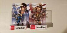 Nintendo Amiibo Figures simon & Richter Belmont super Smash Ultimate - ship asap
