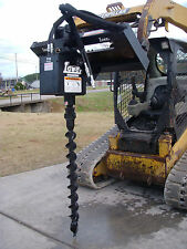 "Bobcat Skid Steer Attachment Lowe 750 Hex Classic Auger with 4"" Bit - Ship $199"