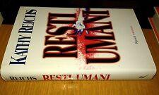 KATHY REICHS-RESTI UMANI-RIZZOLI-ROMANZO- GIUGNO 2000-1a edizione   SM11
