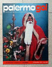 RIVISTA CALCIO PALERMO GOL DICEMBRE 1977 SERIE B VINTAGE COMO MAGAZINE ITALIA