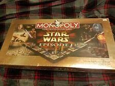 Star Wars Episode I Monopoly Collector Ed NEW SEALED Board Game Phantom Menace