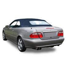 W208 Mercedes Benz CLK Series 1999-2003 Convertible Soft Top Blue German Canvas