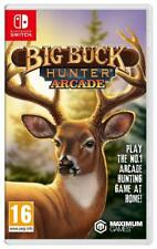 Big Buck Hunter Arcade For Nintendo Switch (New & Sealed)