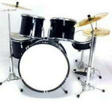 More details for miniature drum kit - best price on ebay - black