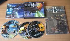 PC GAME-IMPERIUM GALACTICA II-2-ALLIANCES-4 CD-Computer-Gioco-Games-ITALIANO-ITA