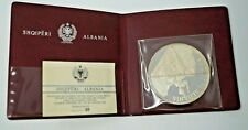 Albania Shqiperi 1969 Silver Proof Set In Presentation Wallet 25 Leke
