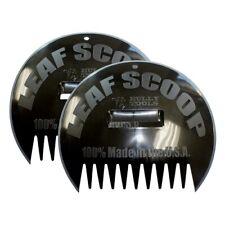 Bully Tools 14.5 In. Plastic Scoop Leaf Rake (9-Tine)