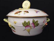 Herend Porcelain  Market Garden Tureen Covered Veggitable Lemon Final Lid 42/FR