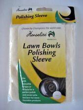 All New: Henselite Lawn Bowls Polishing Sleeve. FREE SHIPPING!