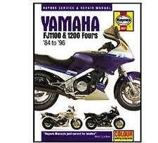 Yamaha FJ1100 FJ1200 1984-1995 Haynes Workshop Service Manual