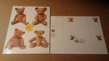 USPS Postal Cards Postcards TEDDY BEARS Sealed Pack 20 Stamped #s UX382-UX385