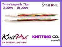 KnitPro SYMFONIE Interchangeable Circular Knitting Needles (Dif. Sizes) Knit Pro