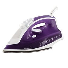 Russell Hobbs 23060 2400W Supersteam Traditional Iron in Purple New