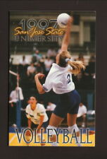 San Jose State Spartans--1997 Volleyball Pocket Schedule