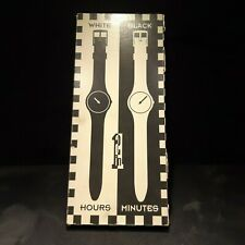 Swatch - Black Hour White Minutes - GZS10 - Collector 1995