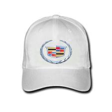 New Cadillac Logo White Hats