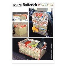 Butterick patrón de costura coche organizadores b6228