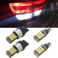 4 Bright White LED Backup Reverse Lights Bulbs for Jeep Grand Cherokee 2011-2020