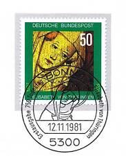BRD 1981: Heilige Elisabeth von Thüringen Nr. 1114 mit dem Bonner Stempel! 154