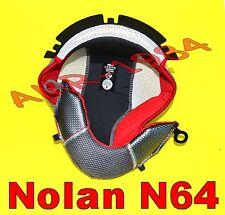 """INTERNO CLIMA COMFORT RED per  NOLAN N64  all model  TAGLIA """"M """" 00498"""