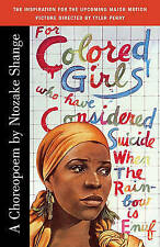 NEW For Colored Girls Who Have Considered Suicide When the Rainbow Is Enuf