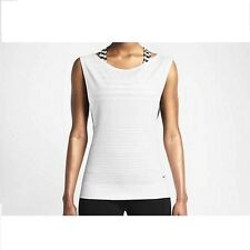New Nike Top Size XS (UK 4-6))/Women Dri-FIT Knit Sleeveless Training /gym