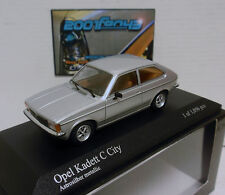 OPEL KADETT C CITY 1978 1/43 MINICHAMPS