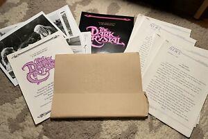 The Dark Crystal Movie Press Kit - Promo Photos - Info Sheets - Jim Henson 1982