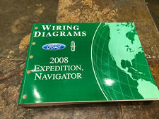 2008 Ford Expedition Lincoln Navigator Wiring Diagrams Electrical Service Manual