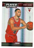 2017-18 Panini PLAYER OF THE DAY SILVER HOLO 7 ZACH LAVINE 145/150 Chicago Bulls