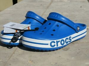 Crocs Bayaband Clog Men's Size 8 / 10 Women Blue Bright 205089-4JL NEW WITH TAGS