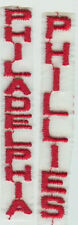 Philadelphia Phillies 3 inch Embroidered Vertical Patch