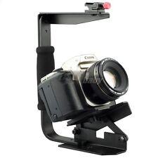 Quick Flip Speedlite Flash Bracket Grip Camera Arm Handle Hand Holder Stand DSLR