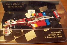 1/43 WILLIAMS 1999 FW21 SUPERTEC RALF SCHUMACHER