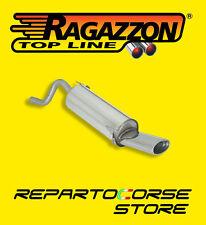 RAGAZZON TERMINALE SCARICO OVALE 115 FIAT GRANDE PUNTO 1.3 MJET 55/66kW 75/90CV