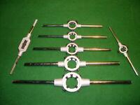 Schneideisenhalter für Schneideisen Gewindeschneider Halter 16x5 mm - 65x25 mm