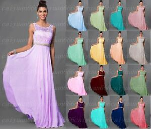 2019 Hot Lace Beads Bridesmaid Dress Formal Party Evening Dress Long Prom Dresse