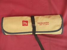 Toyota Early Tool Roll Kit with Tools Celica Corolla
