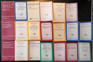 Rudolf Steiner Bücher Konvolut 1 gebraucht sehr guter Zustand