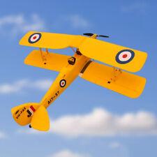 Dynam 1270MM Tiger Moth Yellow Foam RC Airplane Model ESC Propeller Motor PNP