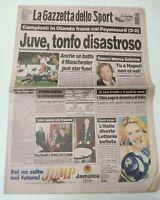 GAZZETTA DELLO SPORT 27 NOVEMBRE 1997 CHAMPIONS LEAGUE FASE A GIRONI JUVENTUS